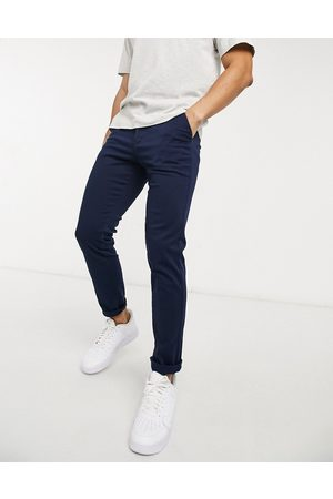 Jack & Jones Intelligence stretch slim trouser in