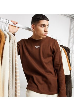 Reebok Classics Toast long sleeve t-shirt in waffle exclusive to ASOS