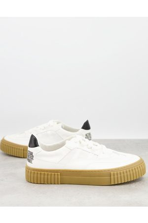 ASOS Lace up trainers in made from responsible materials