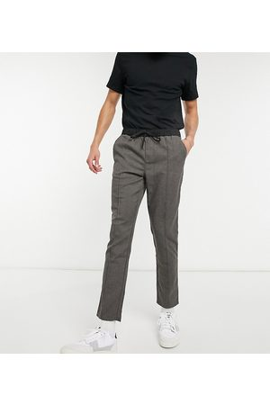 ASOS Tall slim trousers in with elasticated waist