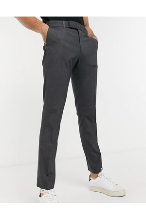 ASOS Skinny suit trouser in charcoal