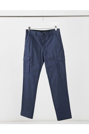 Jack & Jones Men Cargo Pants - Intelligence clean smart slim cargo trousers in