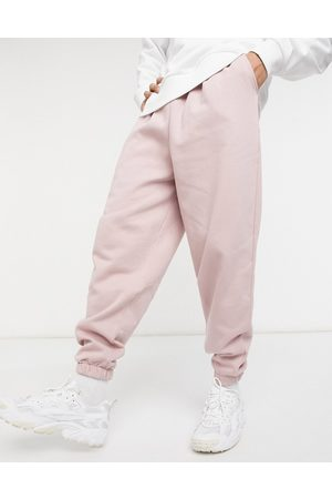 ASOS Oversized joggers with thin waistband in washed