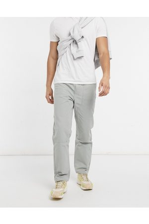 Weekday Darien Canvas Trousers in light