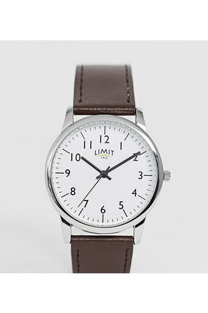 Limit Leather Watch In Exclusive To ASOS