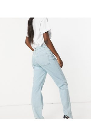 ASOS Tall ASOS DESIGN Tall high rise stretch 'effortless' crop kick flare jeans in pretty lightwash