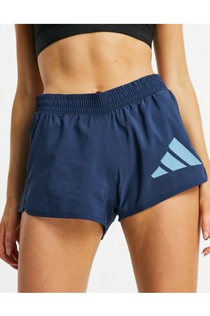 adidas Adidas Training 3 bar logo woven shorts in