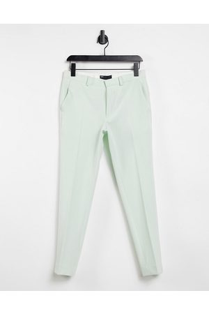 ASOS Super skinny smart trousers in mint