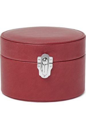 Rapport London Men Cufflinks - Leather Watch and Cufflink Box