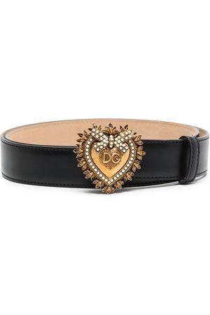 Dolce & Gabbana Women Belts - Devotion buckle belt