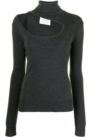 MONSE Cut-out roll-neck jumper