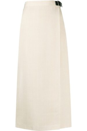 Jil Sander Mid-length wrap skirt