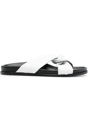 Elleme Open-toe knot sandals
