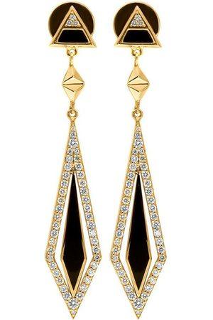 Alessa Women Earrings - 18kt yellow diamond Arrow drop earrings