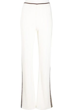 Missoni Knitted flare trousers