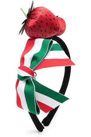 MONNALISA Strawberry applique head band