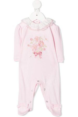 MONNALISA Bouquet-print pyjamas