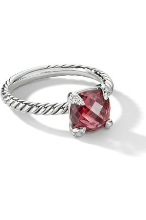 David Yurman Women Rings - Chatelaine diamond pavé ring