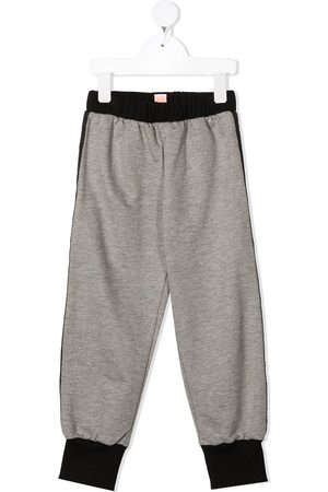 Wauw Capow by Bangbang Boys Pants - Side-zip detail trousers