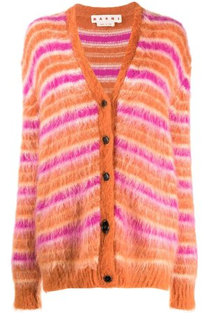 Marni Striped brushed cardigan