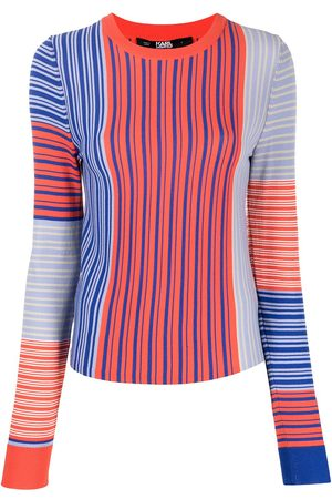 Karl Lagerfeld Striped fine knit jumper