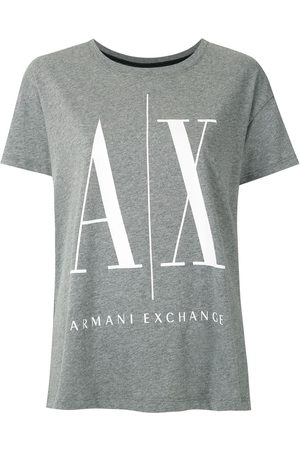 Armani Women Short Sleeve - Logo-print T-shirt