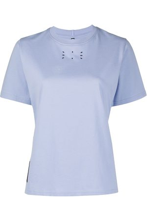 McQ Women Short Sleeve - Graphic-print cotton T-Shirt