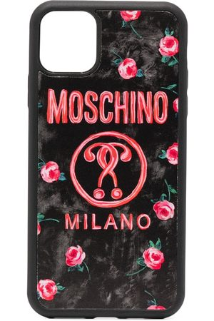 Moschino Women Phone Cases - Double Question Mark iPhone 11 Pro Max case