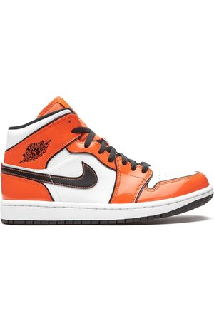 "Jordan Men Sneakers - Air 1 Mid SE ""Turf Orange"" sneakers"