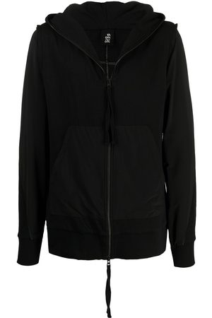 THOM KROM Zipped-up hooded jacket