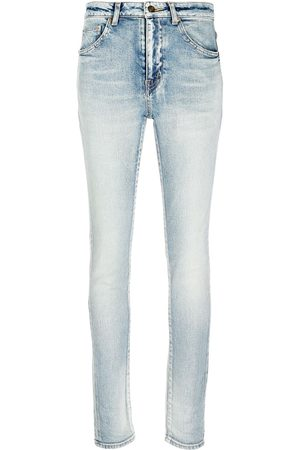 Saint Laurent Women Skinny - Skinny fit low rise jeans