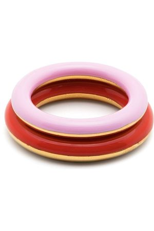 CHARLOTTE CHESNAIS Two-tone stackable rings