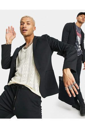 ASOS Super skinny suit jacket in jersey