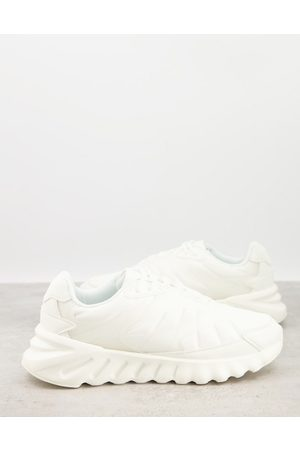 ASOS Padded technical trainers with rubber panels in