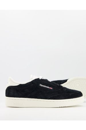 Reebok Club C suede trainers in