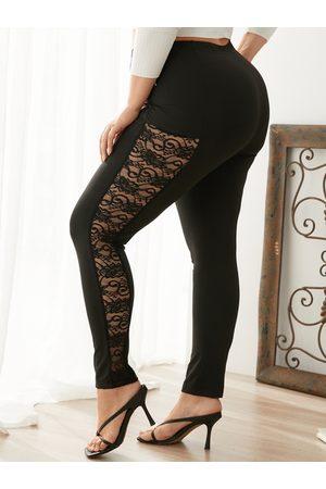 YOINS BASICS Plus Size Lace Pants