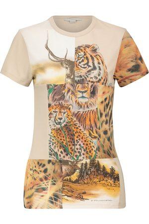 Stella McCartney Printed cotton T-shirt