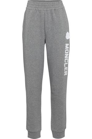 Moncler Logo cotton-blend trackpants