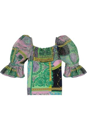 VERSACE Barocco Patchwork blouse