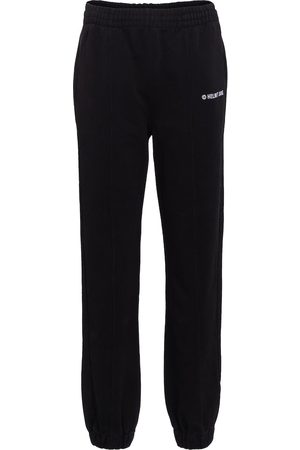 Helmut Lang Logo cotton jersey trackpants