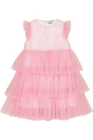 Il gufo Cotton and tulle dress
