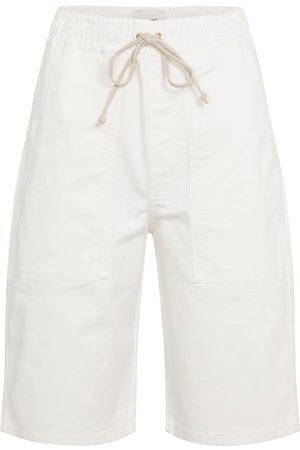 Nanushka Hadi denim Bermuda shorts