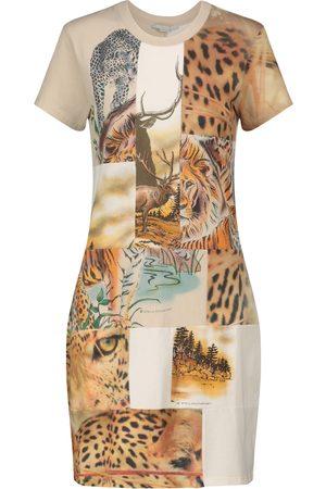 Stella McCartney Women Casual Dresses - Printed cotton-jersey minidress