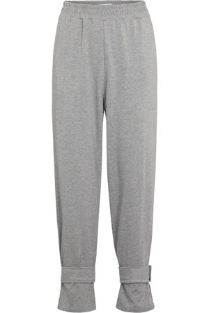 Frankie Shop Cuffed cotton trackpants
