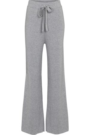 LIVE THE PROCESS Ribbed-knit cashmere-blend pants