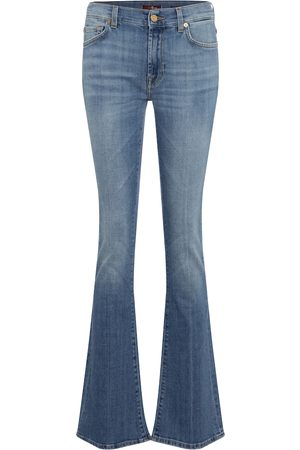 7 for all Mankind Women Bootcut & Flares - YR2000 mid-rise bootcut jeans
