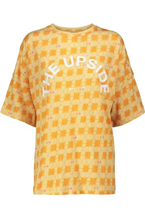 The Upside Carla cotton-blend T-shirt