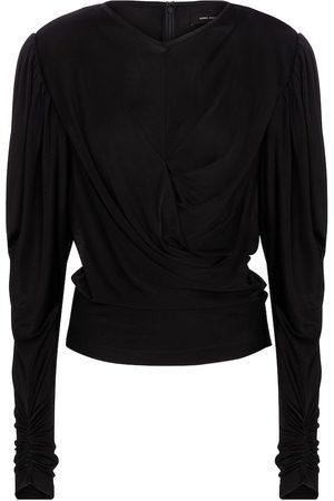Isabel Marant Diwaden silk-blend jersey blouse