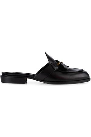 Frame Le Sweetzer Leather Loafer Mules