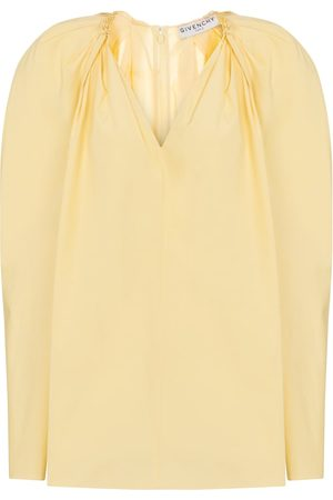 Givenchy Cotton poplin blouse